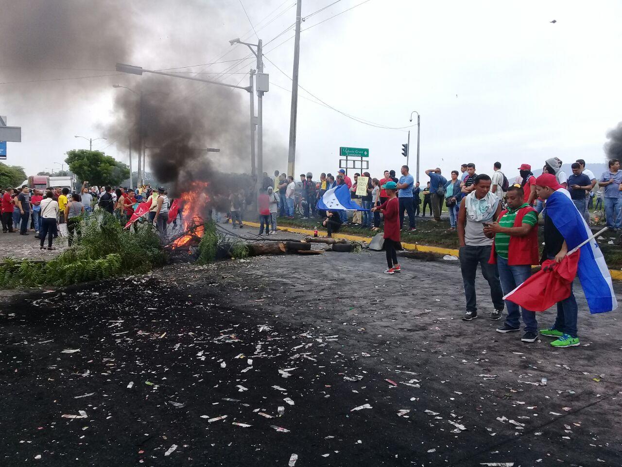 Conflicto social post electoral Honduras 2017
