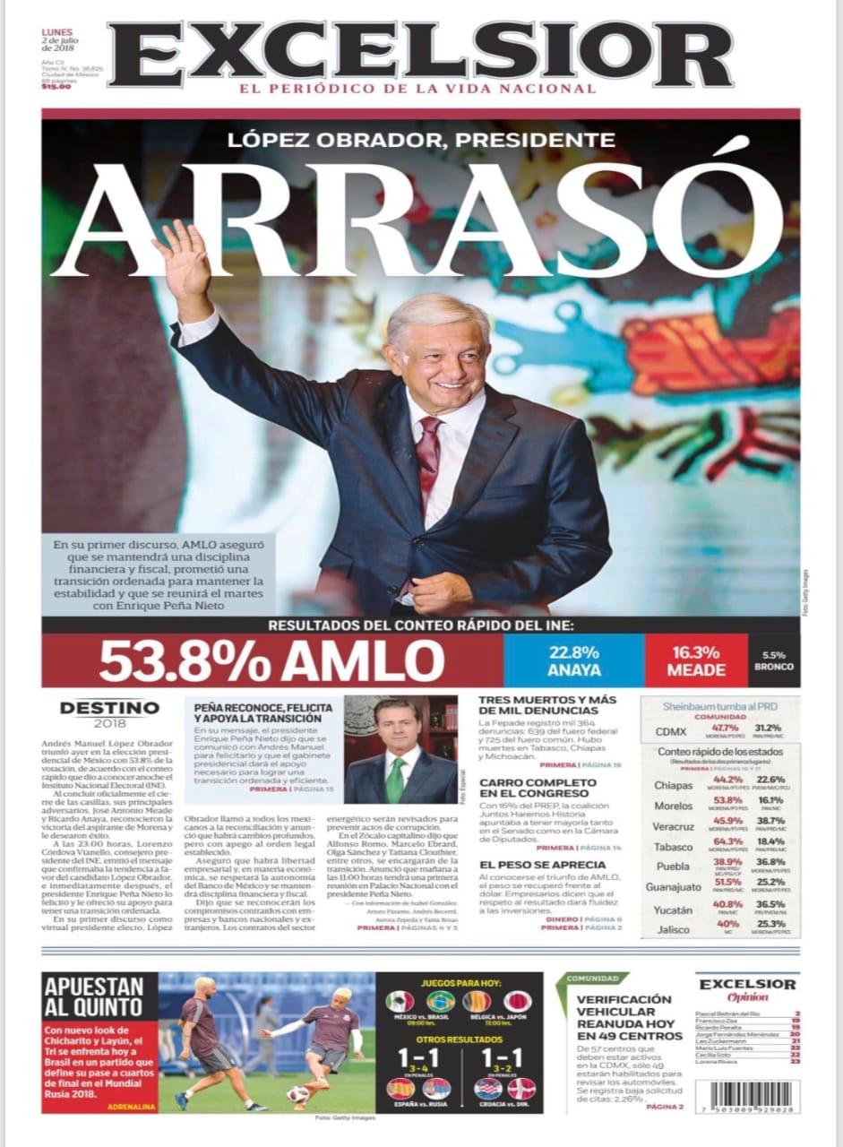 Así vive México la bienvenida al nuevo gobierno