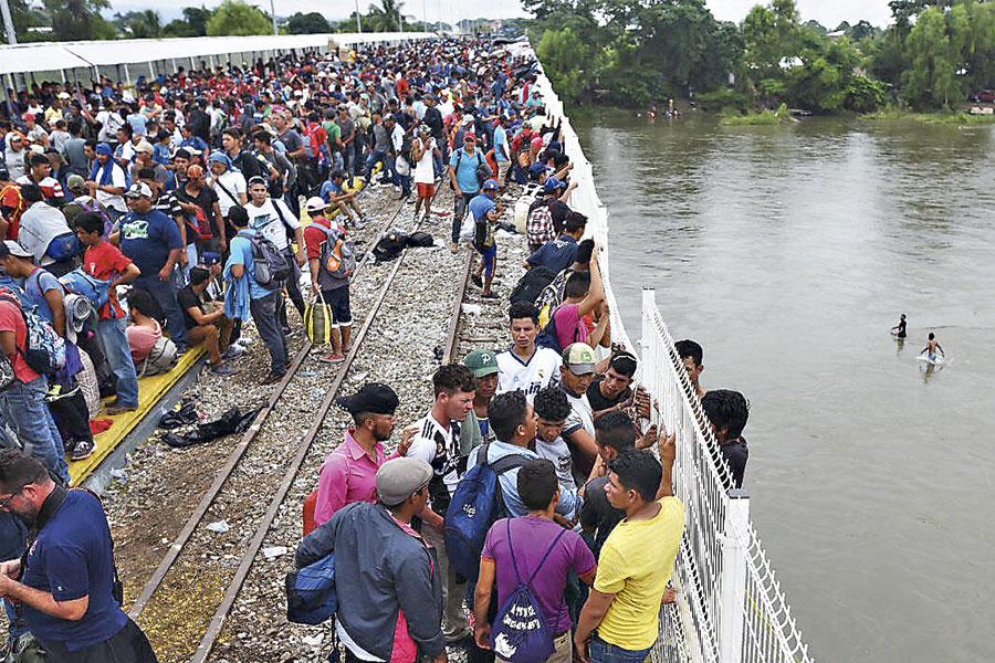 Ayuntamiento de Suchiate reporta mas de 5 mil migrantes