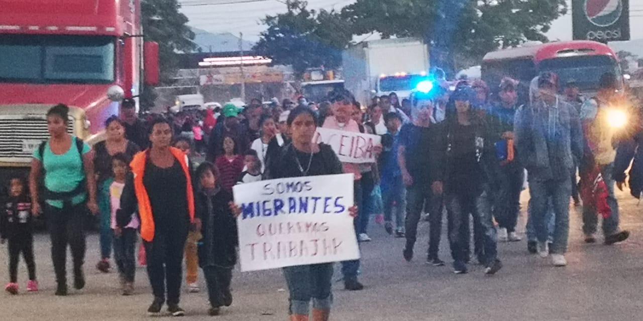 El éxodo hondureño de migrantes