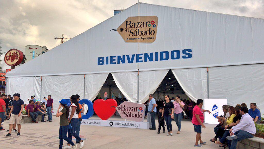 """""""Bazar del Sábado"""" en Tegucigalpa abrirá también los domingos de noviembre"""