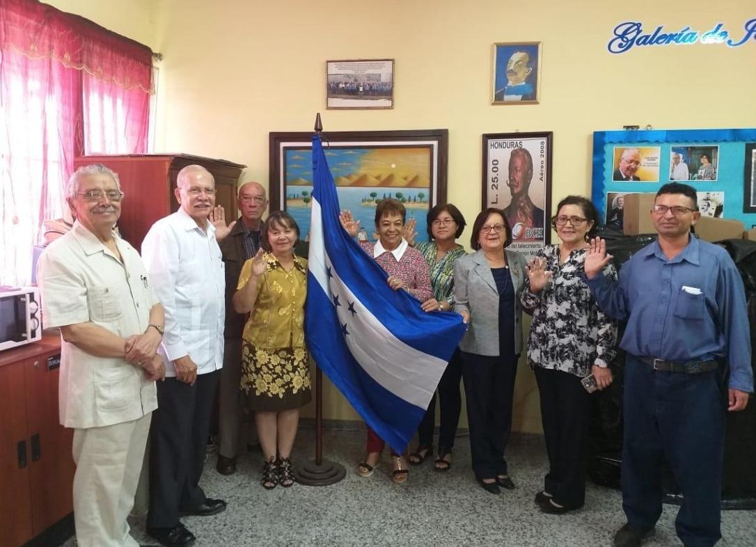Nueva Directiva del Círculo histórico-cultural Juan Ramón Molina
