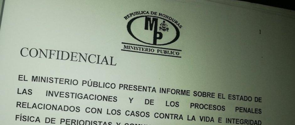 13 artículos con amenaza de prisión para periodistas y sus fuentes en nuevo Código Penal de Honduras