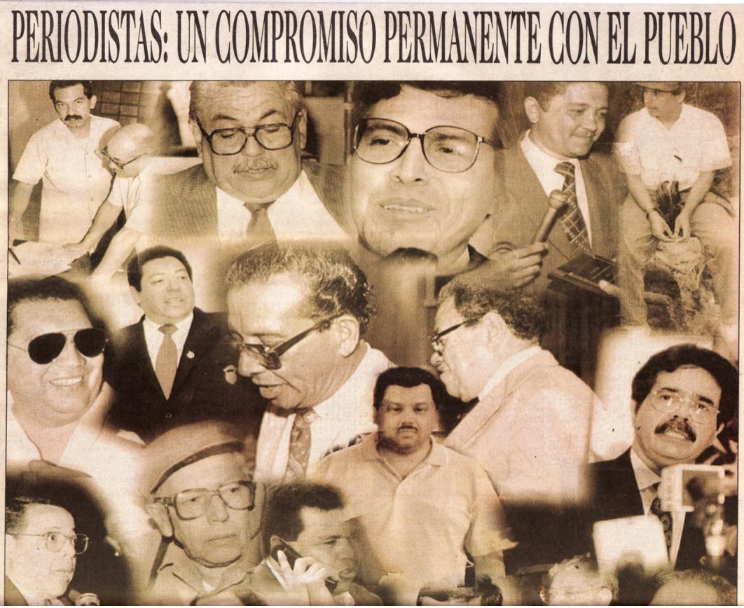 ¡Loor a los periodistas hondureños!