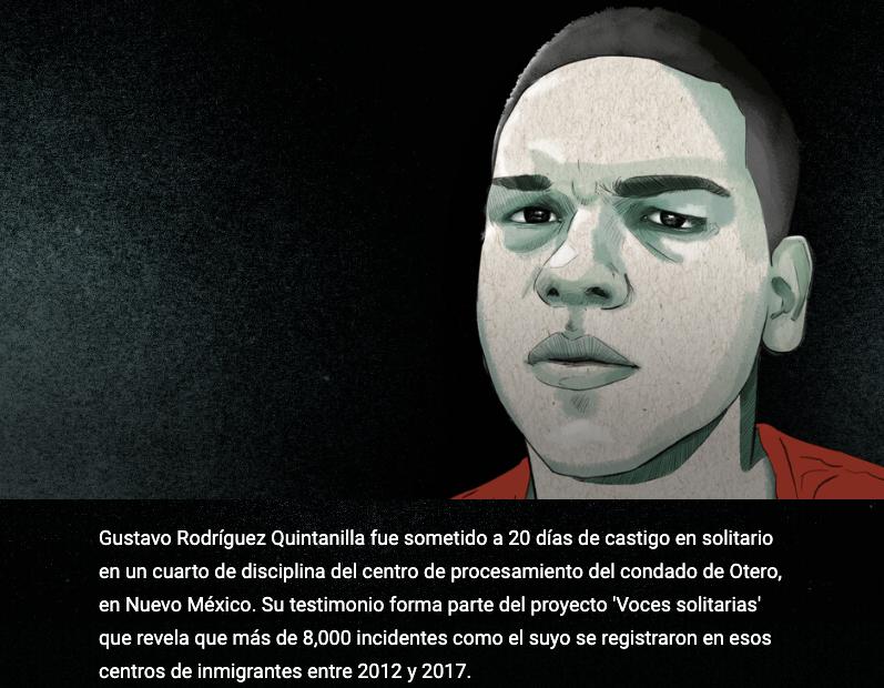 """""""Abusan de ese castigo que es tan horrible"""": inmigrante hondureño de 18 años cuenta lo que vivió en una celda de aislamiento de ICE"""