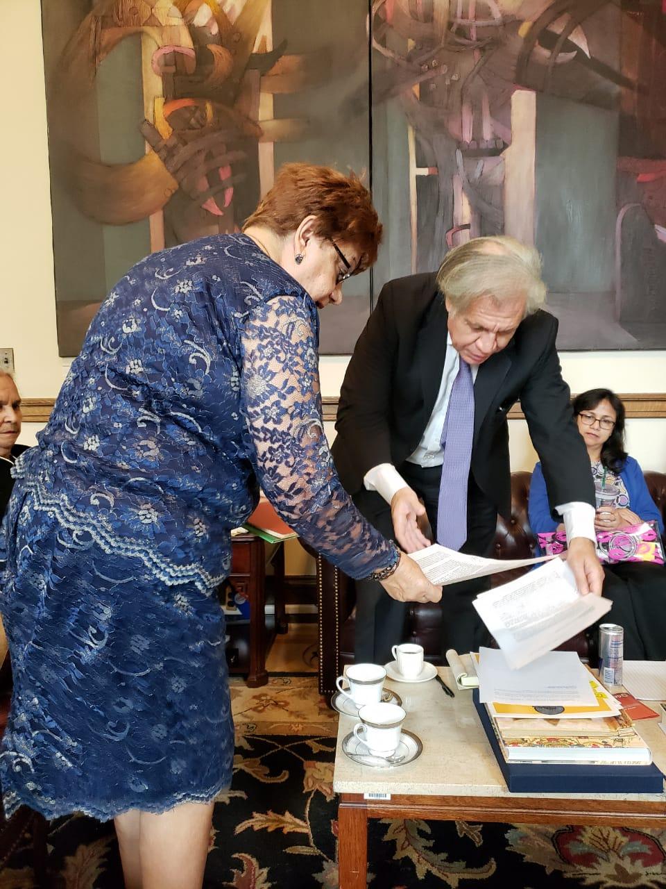 Coalición ciudadana  solicita a Almagro se proceda a ampliar el convenio MACCIH